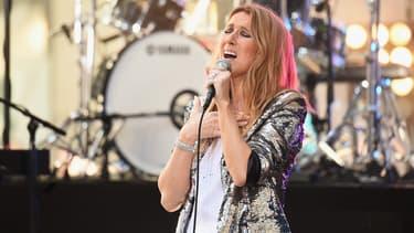 Céline Dion, le 22 juillet 2016