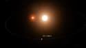 Une exoplanète en orbite autour de deux étoiles a été découverte par la Nasa.