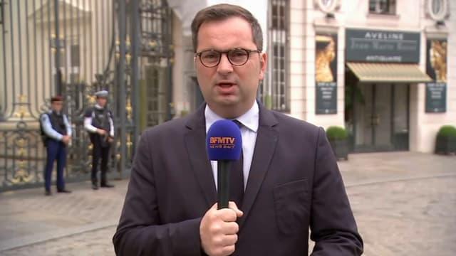 """Le porte-parole du ministère de l'Intérieur, Pierre-Henry Brandet, assure que """"des mesures de précaution ont été prises"""" après les affrontements entre supporters survenus à Marseille."""