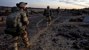 Des soldats français en mission au Mali, en avril dernier.