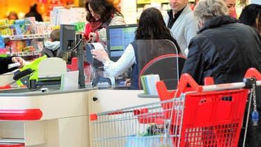 Un supermarché Auchan, en 2012 (image d'illustration).