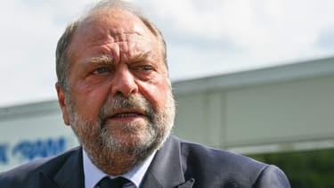Le ministre de la Justice Eric Dupond-Moretti, le 19 juillet 2021.