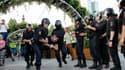 Un opposant arrêté pendant la manifestation non-autorisée à Moscou ce samedi.