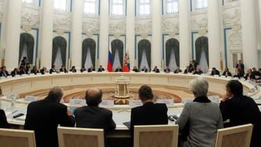 Les pays membres du G20 sont réunis à Moscou, depuis le vendredi 15 février, notamment afin d'éviter une guerre des changes.