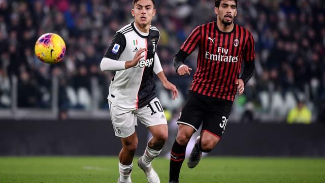 Dybala (Juventus) et Paqueta (Milan)