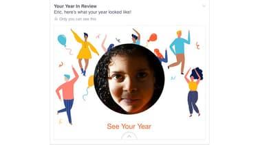 """Le """"Super année"""" de Facebook rappelait à Eric Meyer la mort de sa fille, Rebecca, à l'âge de 6 ans."""