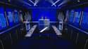 Le plateau de la soirée de débat entre Jean-Luc Mélenchon et Eric Zemmour ce jeudi soir.