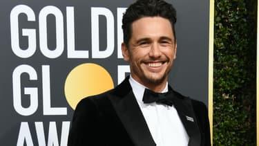 James Franco aux Golden Globes, le 7 janvier 2018.