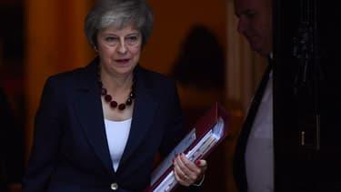 La Première ministre Theresa May au 10, Downing street le 14 novembre dernier.