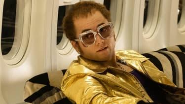 Taron Egerton dans Rocketman, le biopic d'Elton John