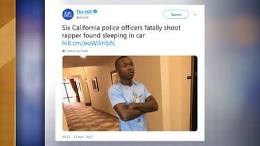 Willie McCoy, 20 ans, abattu par la police en Californie
