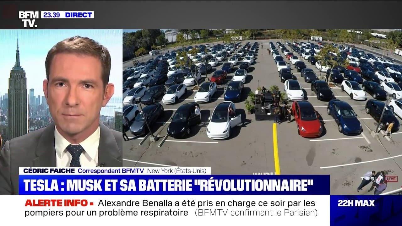 """Automobile: Elon Musk doit présenter une batterie """"révolutionnaire"""""""