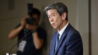 Le patron de Toshiba quitte son poste.
