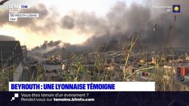 Explosions à Beyrouth: le témoignage de Léa, une Lyonnaise originaire du Liban
