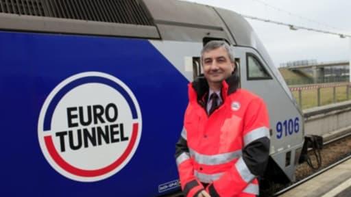 Jacques Gounon, patron d'une entreprise qui a frôlé la banqueroute il y a cinq ans, se félicite de ses résultats en 2012