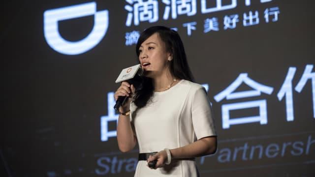Jean Liu, la présidente de Didi Chuxing.