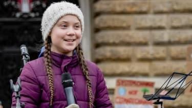 L'activiste suédoise Greta Thunberg, 16 ans - (photo d'illustration) - AXEL HEIMKEN / AFP
