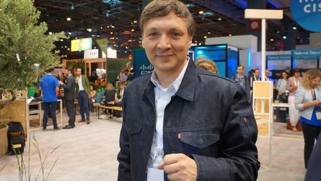 Ivan Poupyrev, le responsable du projet Jacquard de Google.