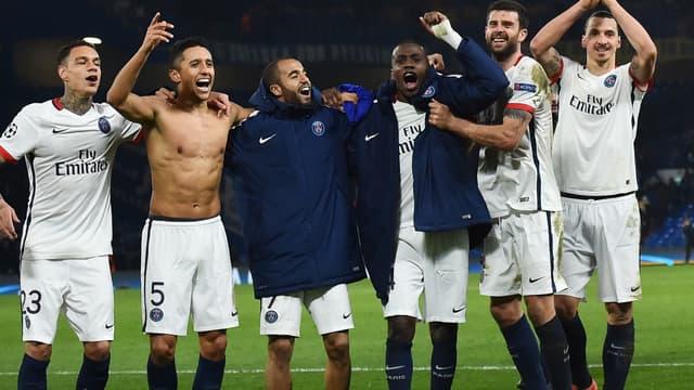 Le PSG qualifié pour les quarts de finale de la Ligue des champions