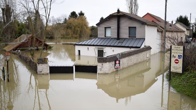 Villennes-sur-Seine le 29 janvier 2018.