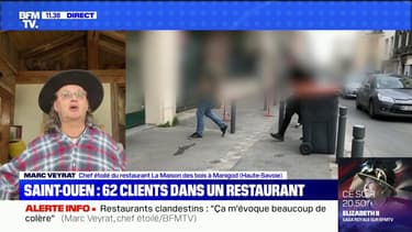 """Marc Veyrat sur les restaurants clandestins: """"Dans la profession, nous sommes ulcérés devant autant de provocation"""""""