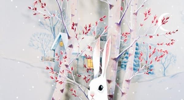 """""""Le lapin de neige"""" de Camille Garoche"""