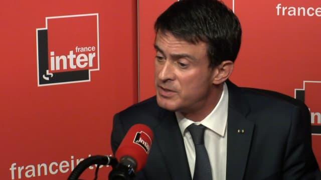Manuel Valls sur France Inter