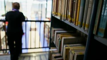 La bibliothèque à l'université de Rouen-Normandie (photo d'illustration)