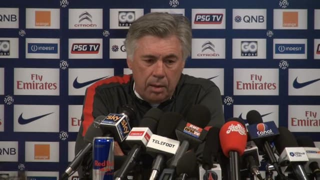 Carlo Ancelotti, entraîneur du PSG.