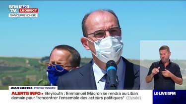 """Beyrouth: Jean Castex annonce que """"des marins-pompiers de Marseille partiront dans peu de temps pour le Liban"""""""