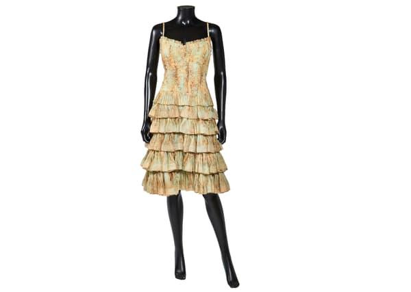 Robe Chanel ayant appartenu à Jeanne Moreau