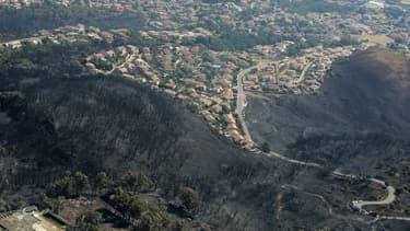 Paysage de Haute-Corse.