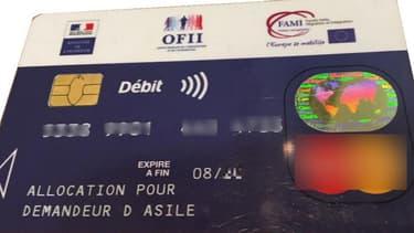 En devenant une carte de paiement uniquement, la future carte bancaire des bénéficiaires de l'allocation de demandeurs d'asile ne permettra plus de retirer de l'argent.