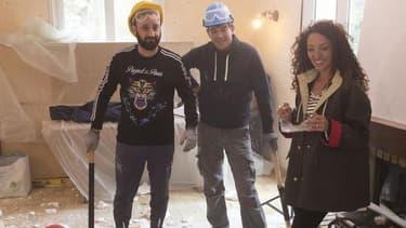 """Cyril Hanouna, Emmanuelle Rivassoux et Stéphane Plaza dans """"Maison à vendre"""""""