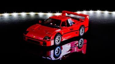 La mythique Ferrari F40.