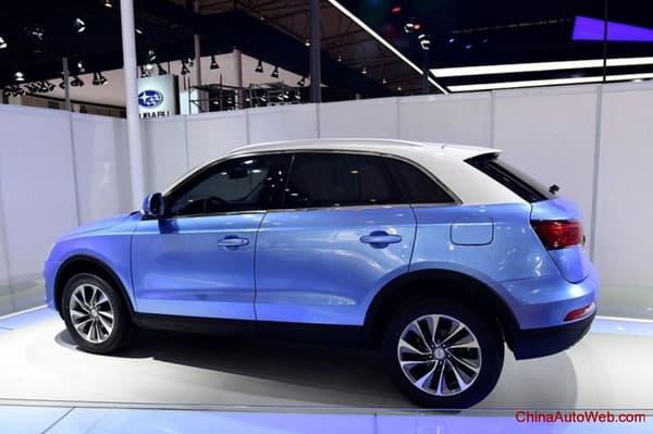 Sans licence, difficile de savoir s'il s'agit d'un véritable Audi Q3 ou de la version Zotye.