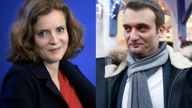 Nathalie Kosciusko-Morizet et Florian Phillippot.
