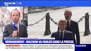 Remaniement: Macron va parler dans la presse - 02/07