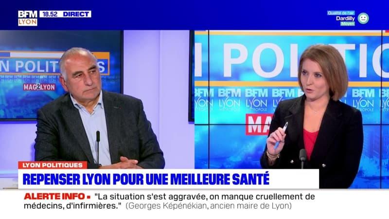 """Lyon: l'ancien maire Georges Képénékian estime """"être né écologiste"""""""