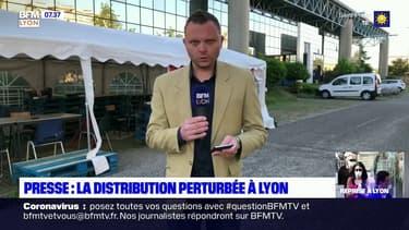 Presse: la distribution perturbée à Lyon depuis trois semaines