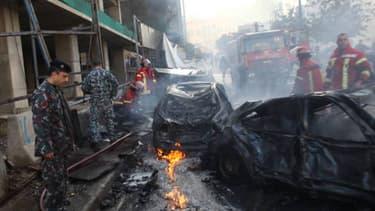 Un attentat à la voiture piégée dans le coeur de Beyrouth a fait plusieurs morts dont l'ancien ministre Mohammad Chatah.