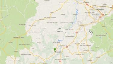 Le drame s'est déroulé à Beauzac, en Haute-Loire.