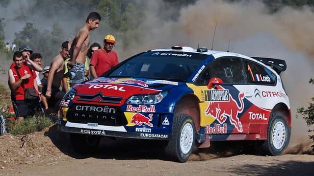 Loeb, ici en 2009 avec la C4, tentera de contester la suprématie des Ford en Grèce