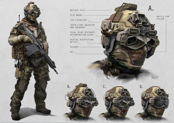 L'armure de type Iron Man que préparait l'US Army a été abandonné pour un système plus adapté aux missions des forces spéciales