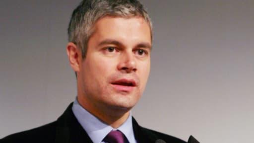 L'ex-ministre Laurent Wauquiez, aujourd'hui vice-président de l'UMP, en novembre 2010.