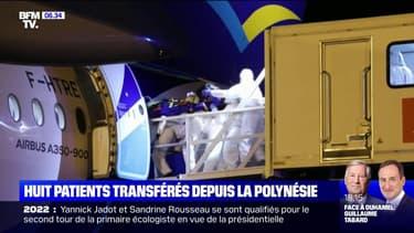 Covid-19: 8 patients en réanimation ont été transférés de Polynésie vers la métropole