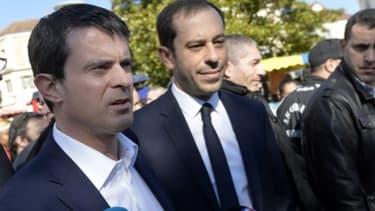 Manuel Valls est venu soutenir Carlos Da Silva, le candidat socialiste à Corbeil-Essonnes.