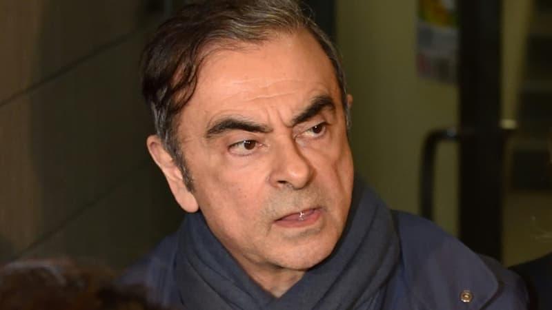 Carlos Ghosn entendu pour la première fois par la justice française ce lundi