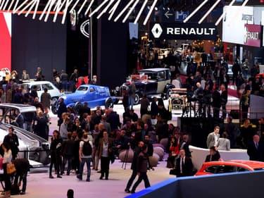 Mondial automobile de Paris 2018, la plus grande concession de France.