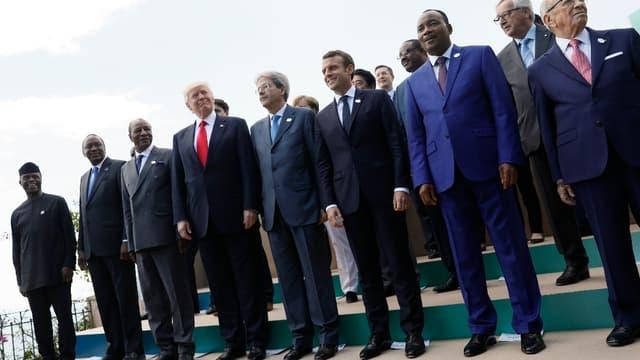 Le sommet du G7 en Italie.